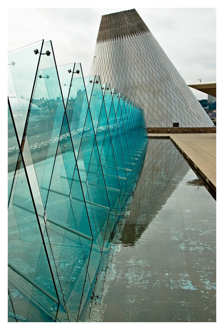 Abstract of Museum of Glass 2 by UrbanRural-Photo