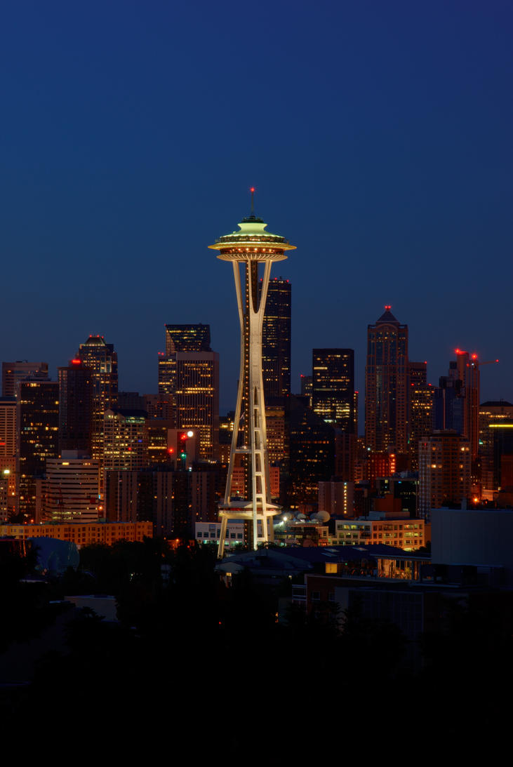 Washington Icon: Space Needle by UrbanRural-Photo