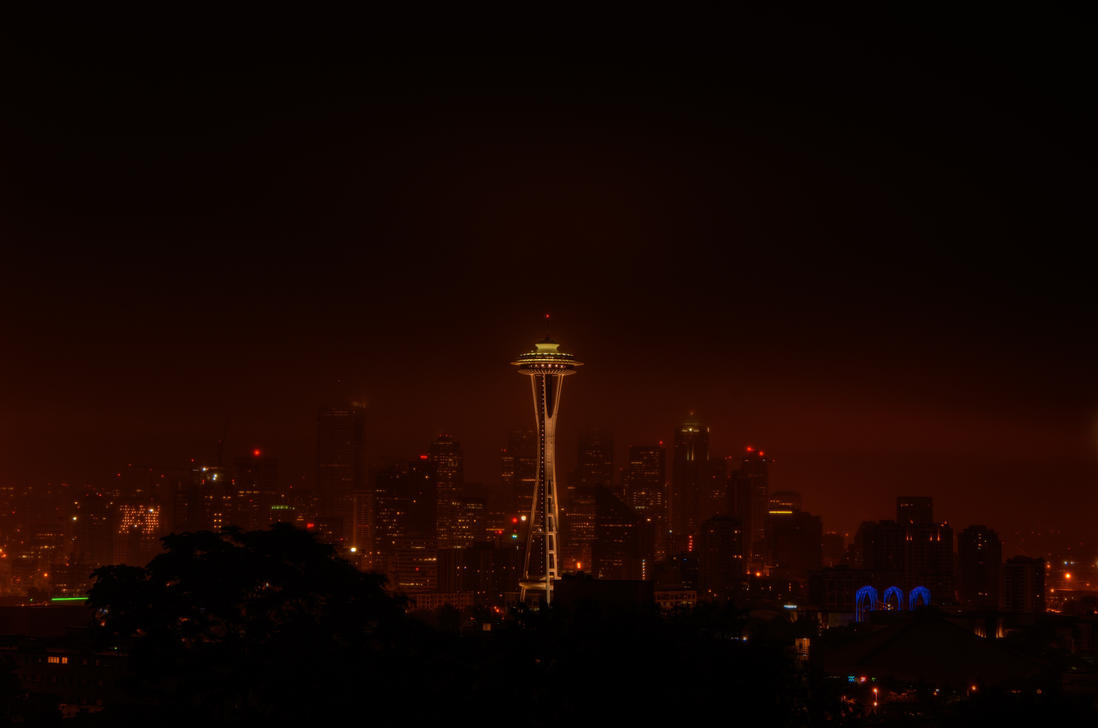 Rainy Seattle Morn by UrbanRural-Photo