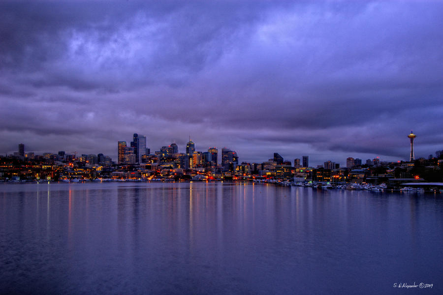 Color of Seattle by UrbanRural-Photo