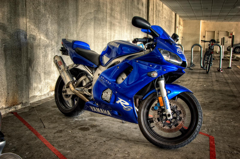 Yamaha R6 at Work by UrbanRural-Photo