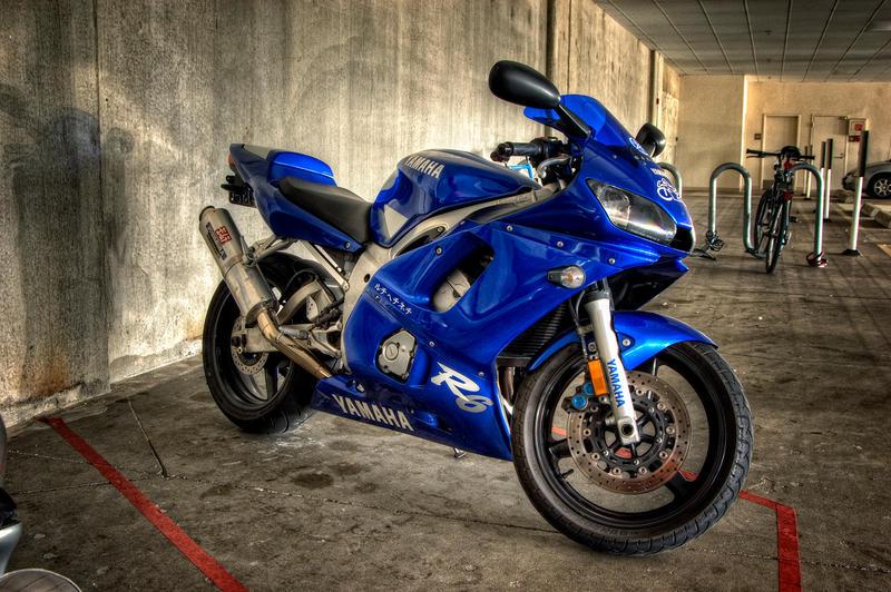 Yamaha R6 at Work by UrbanRural-Photo