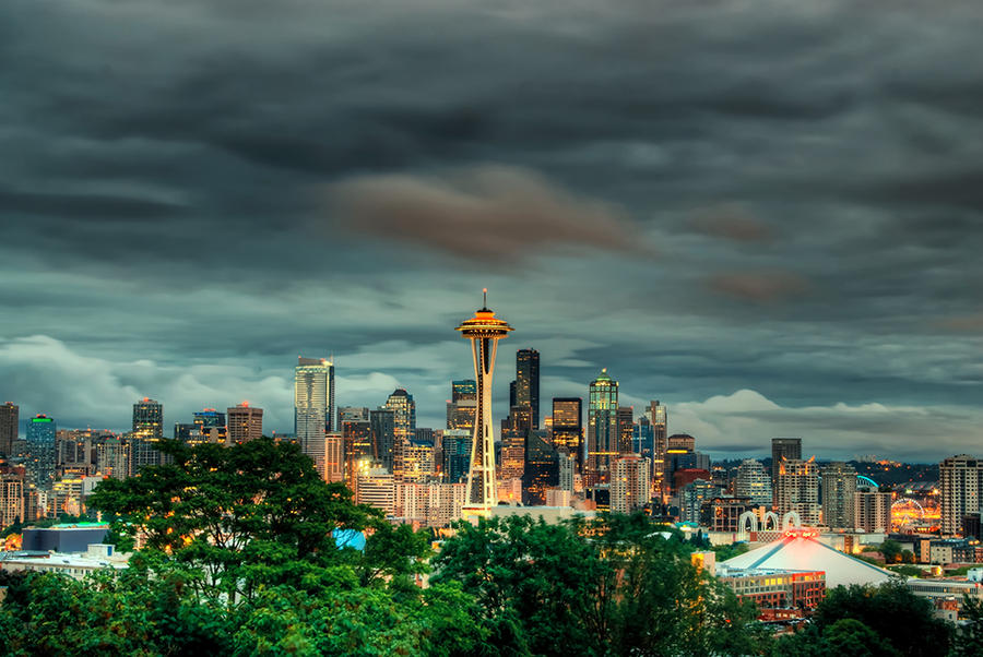 Emerald City by UrbanRural-Photo