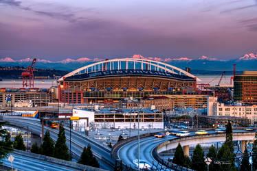 Centurylink Field Seattle by UrbanRural-Photo