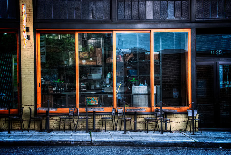 Cafe Americano Seattle Style by UrbanRural-Photo