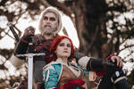 Triss and Geralt - The Witcher