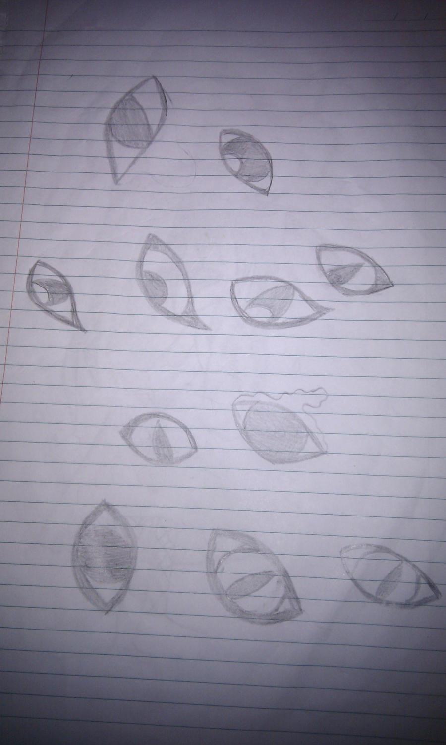 Eyes by howlingathemoon