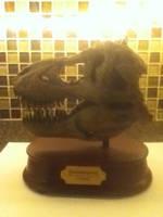 T-rex Skull Replica by RexFan684