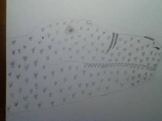 Tyrannosaurus Head Sketch by RexFan684