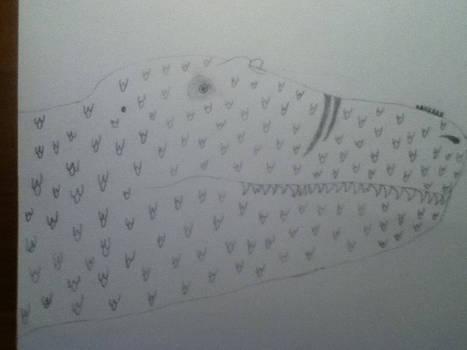Tyrannosaurus Head Sketch
