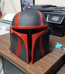 Custom Mandalorian Helmet(Front) by RexFan684