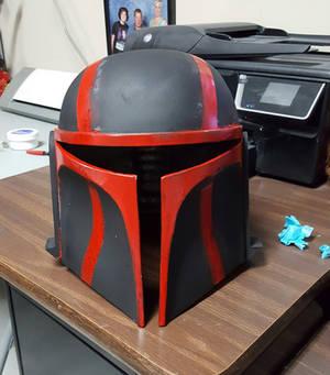 Custom Mandalorian Helmet(Front)