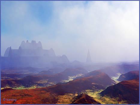 Citadel in the fog