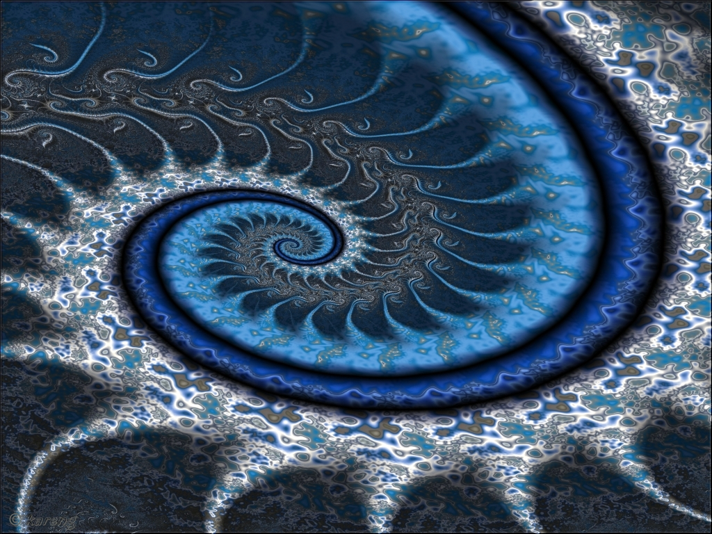 UF-Winter Spiral by Lupsiberg