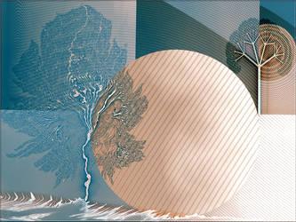 UF-Barnsley and Trees by Lupsiberg