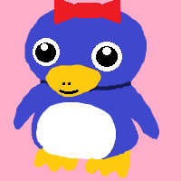 Super Mario 64 Baby Tuxie B (my version) by CJO1234
