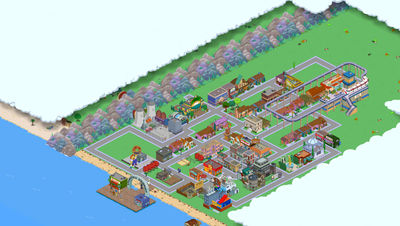 My Simpsons Tapped Out Springfield (1/20/2020)
