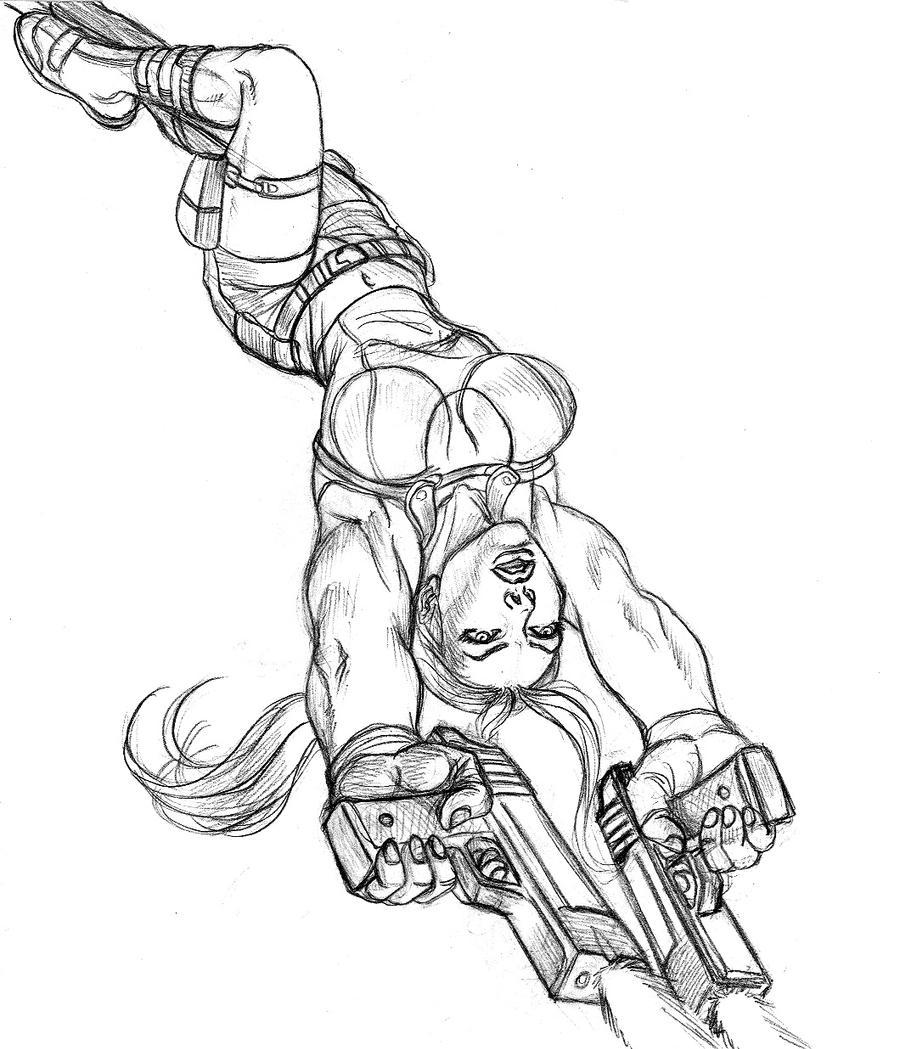 DSC_Lara Croft by danitoons