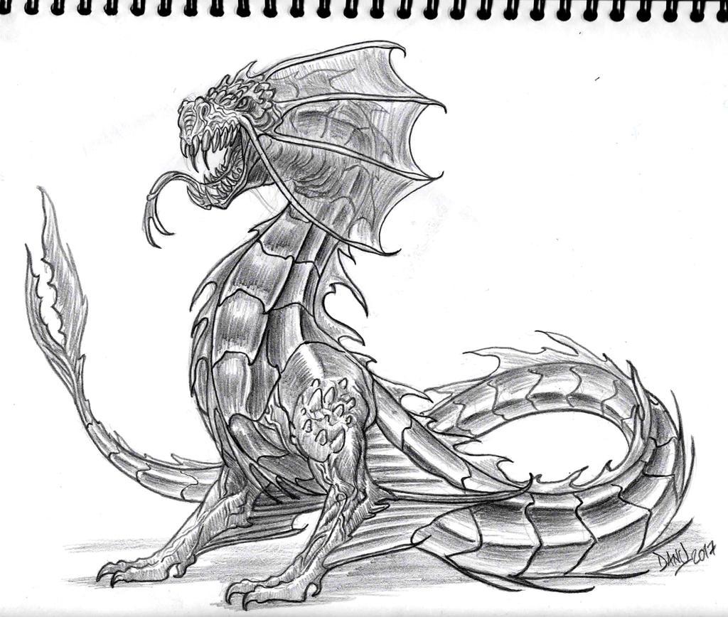 Lindworm Dragon: Lindworm By Danitoons On DeviantArt