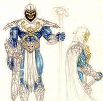 Skeletor concept sketch by danitoons
