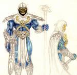 Skeletor concept sketch