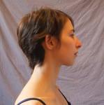 Face side - hair down