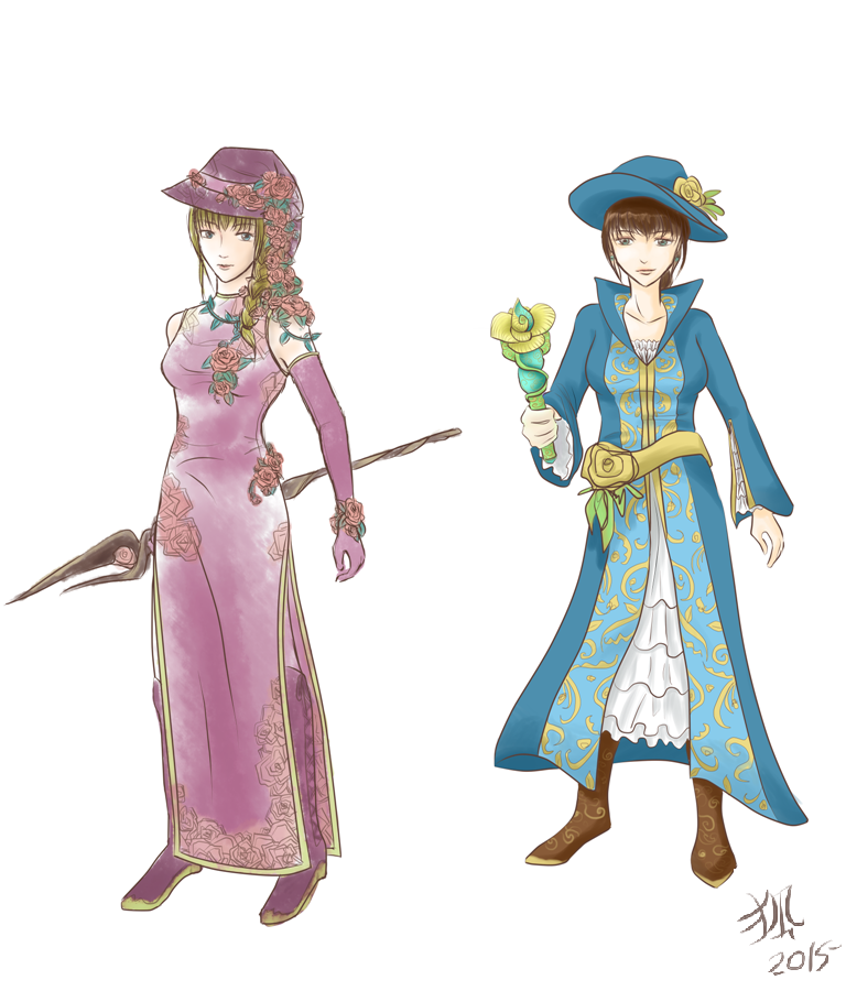 Mage Designs by Foxxeh