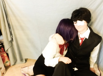Kaneki and Touka by xxcentaurus