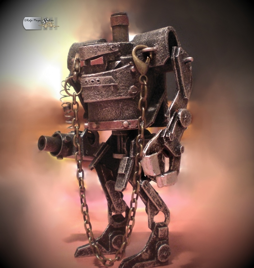 Steampunk Robot by Diarment