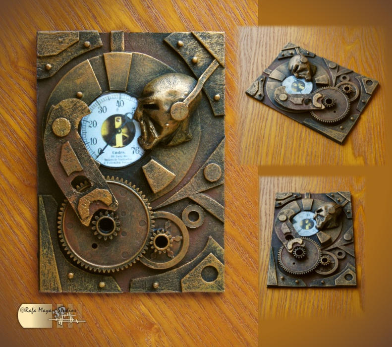 Steampunk ACEO III by Diarment