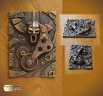 Steampunk ACEO IV