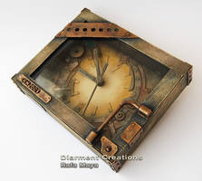 Steampunk Clock IV by Diarment
