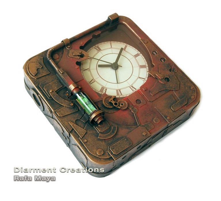 Steampunk Clock V  Cavorite by Diarment