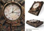 Steampunk Clock VI