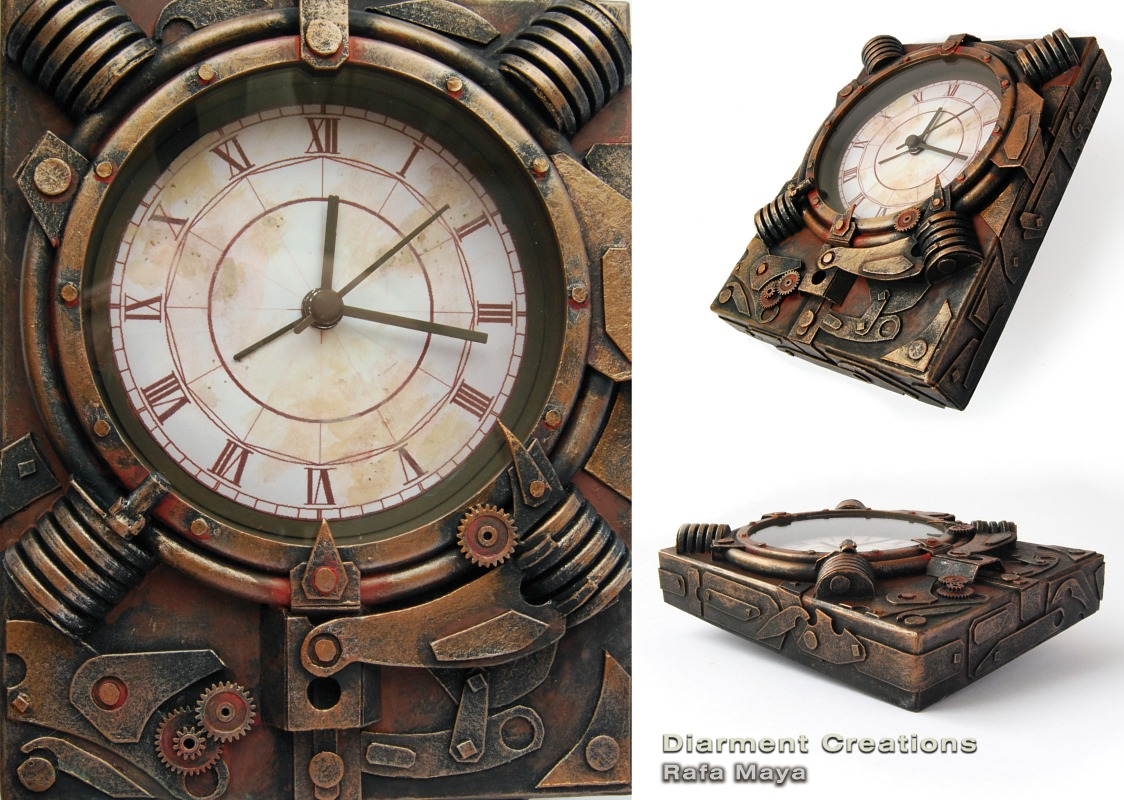 Steampunk Clock VI by Diarment