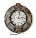 Steampunk Clock VII
