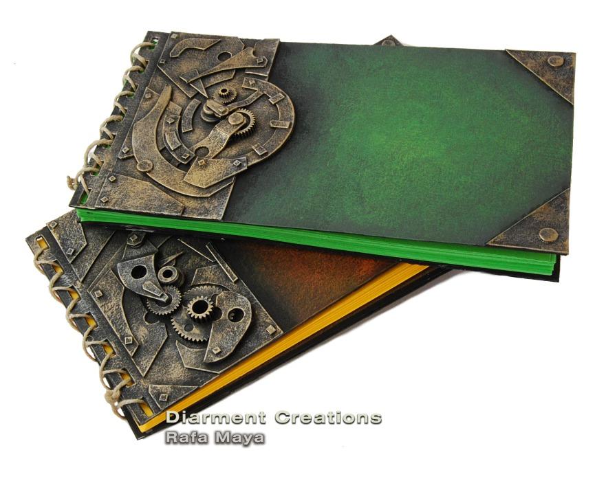 Steampunk Notebook series IV