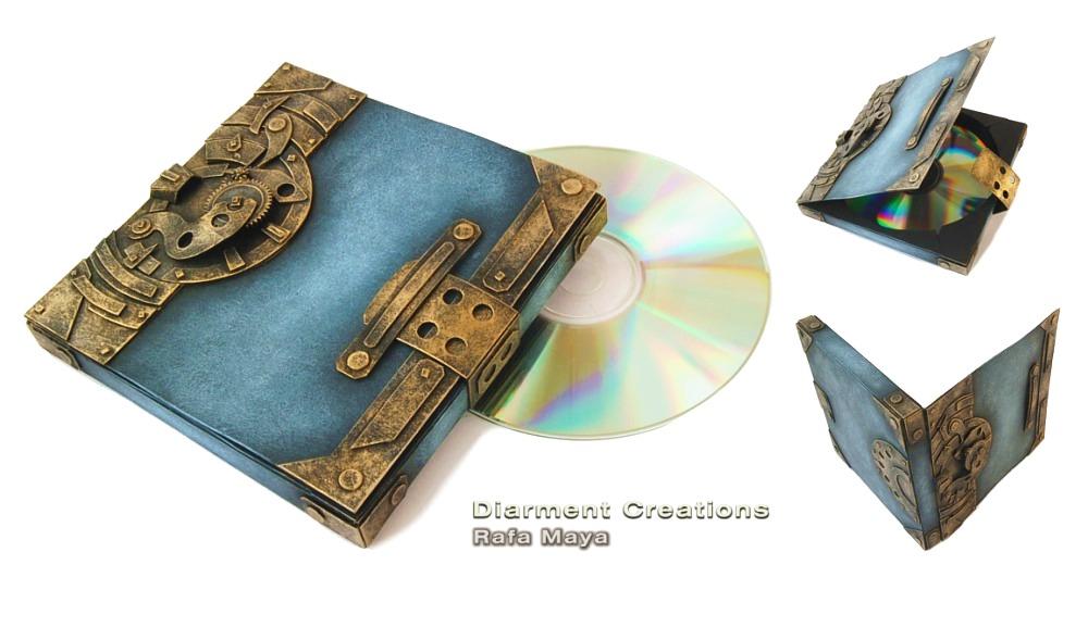 Steampunk CD Box