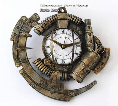Steampunk Clock XIX by Diarment