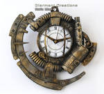 Steampunk Clock XIX