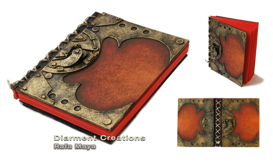 Steampunk Red Journal