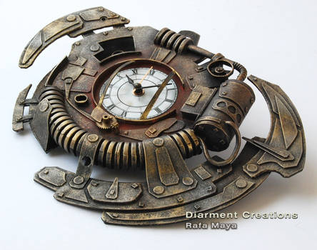 Steampunk Clock XXII