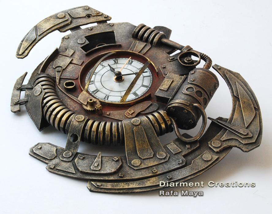 Часы в стиле стимпанк своими руками