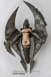 Steampunk Mechanic Angel 2 by Diarment