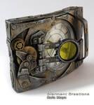 steampunk clock XXVII