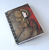 notebook steampunk art nouveau by Diarment