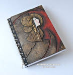 notebook steampunk art nouveau