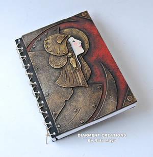 notebook steampunk art nouveau