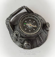 steampunk compass II by Diarment