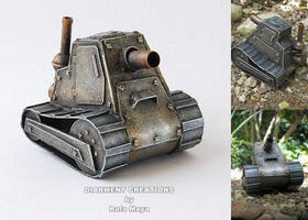 steampunk tank by Diarment